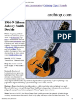1966-9 Gibson Johnny Smith Double