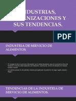 INDUSTRIAS, ORGANIZACIONES Y SUS TENDENCIAS (grupo Emi, Patsy, Mafer, Majo, Astrid)