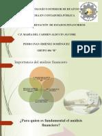 actividad 2. Analisis de estados Financieros. Pedro Ivan Jimenez 406 B.pptx