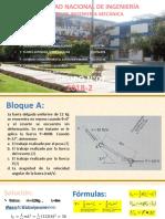TERCER TRABAJO DE SIMULACION + PPT- DINAMICA- BLOQUE A Y D- GRUPO 07