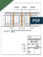 Lamina 24 MAMPARA REEMPLAZO MP1b y MP 1c