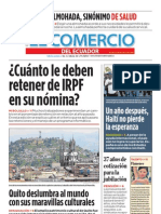 El Comercio del Ecuador Edición 251