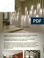 lighting in interior Design