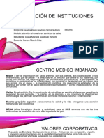 Investigación de instituciones de salud # 2