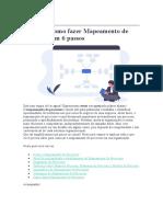O que é e como fazer Mapeamento de Processos em 6 passos