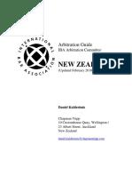 NewZealand-IBAArbitrationGuide