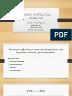 apresentação projeto CED.
