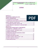 Analizarea Operatiunilor de Decontare Cu Tertii, La Fabricatia de Compresoare