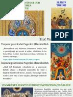 POGORÂREA SFÂNTULUI DUH _ CINCIZECIMEA _ RUSALIILE