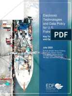 Electronic Technologies and Data Policy for U.S. Fisheries