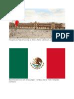 His8 07und02 Fotografia Do Palacio Nacional Do Mexico e Quadro Informativo Para Uso Na Contextualizacao