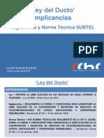 18 06 Ley del ducto - Implicancias y Anexos Técnicos.pdf