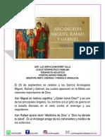 Arcangeles Miguel Gabriel Rafael