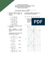 Sistema de ecuaciones Lineales. 2