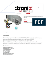 Motor DC con Encoder - Tectronix