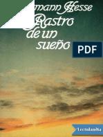 Rastro de un sueno - Hermann Hesse.pdf