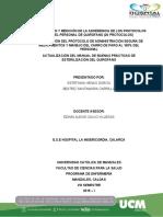 POSICIONAMIENTO DE LA SALA AMIGA DE LA FAMILIA LACTANTE EN LA ALCALDIA DE MANIZALES