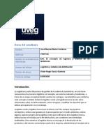 EA3. El concepto de logística y análisis de las tendencias
