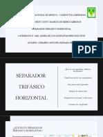 Separador Trifásico Hosizontal-gerardo