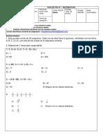 GUIA 1 PSU Matematica