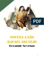 Novena São Rafael Arcanjo - História, Orações, Novena e Ladainha