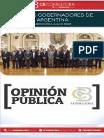 Julio 2020 - Ranking de Gobernadores