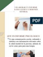 COMO ELABORAR UN INFORME PSICOLOGO Y SESIONES.pptx