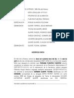 ACTAS DE AUDIENCIAS JUZGADO DE PAZ