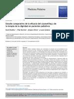 eficacia del counseling y de terapia de dignidad en cuidados paliativos