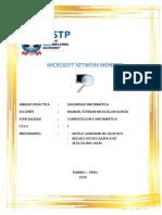 MICROSOFT NETWORK MONITOR.docx
