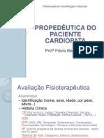 Fisio em Cardio_Aula 1_Propedêutica Cardiológica