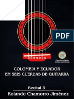 Colombia y Ecuador en seis cuerdas de guitarra, recital 3