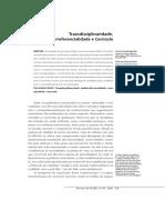 FAGUNDES, Norma Carapiá & BURNHAM, Teresinha Fróes - Transdisciplinaridade, multirreferencialidade e currículo