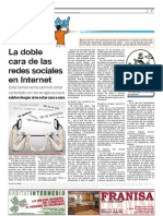 La doble cara de las Redes Sociales (La Mar de Campos, enero 2011)