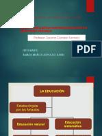LA EDUCACIÓN PRETAHUANTINSUYO
