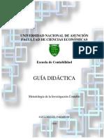 Guia Didactica MInvestigación Félix Pagliaro