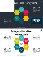Infographics – Bee Honeycomb