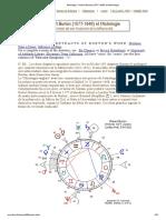 Astrologie _ Robert Burton (1577-1640) et l'Astrologie
