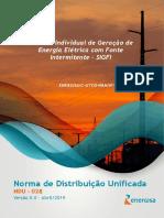 NDU 028 - Sistema Individual de Geração de Energia Elétrica em Fonte Intermitente