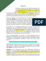 1. Nociones Generales de los contratos