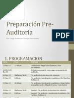 Preparación Pre-Auditoria