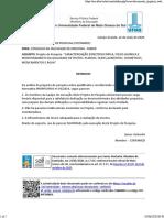 Aprovação Projeto Guarda-chuva Completo-CSP 2020