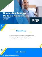 Conceptos Basicos Modelos Relacionales