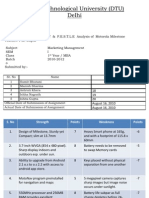 Marketing Management- Assessment 1a