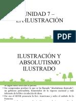 UNIDAD 7 - LA ILUSTRACION