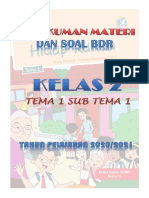 SOAL BDR KELAS 2 TEMA 2 SUB TEMA 1
