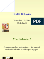 Health_Behavior_Presentation_K_Doell