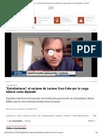 _Extralimitarse__ el reclamo de Luciano Cruz-Coke por la carga laboral como diputado - AS Chile