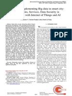 Arulkumar-2019-Concept of implementing big dat