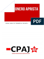 Cancionero Aprista - Célula Parlamentaria Aprista Juvenil